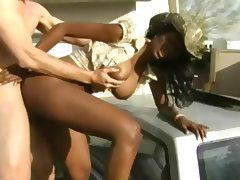Nyomi Banxxx Ebony Cowgirl