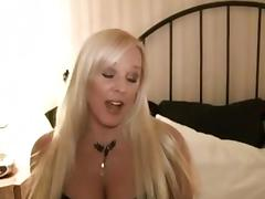 Aged golden-haired gives BBC oral-service when hubby is away