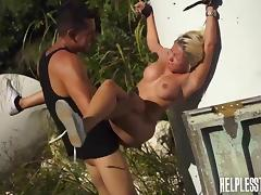 marsha is awfully fucked by angry cock