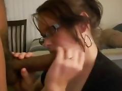 Cuckold cum eater wife