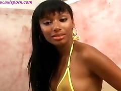 Hot Black chick wants teases
