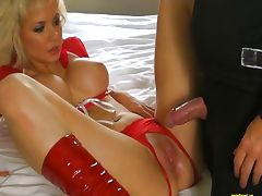 Babe Cheerleader Margo Russo Vs SLIME
