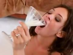 Cum drinking 4