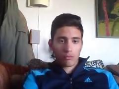 Greek Cute Athletic Boy With Nice Big Cock On Cam
