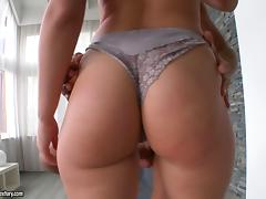 Magnificent babe decides to take the cock deep into her perfect booty
