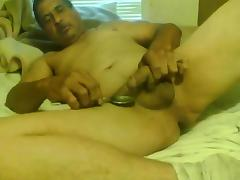 Slaming speed and drinking my own cum