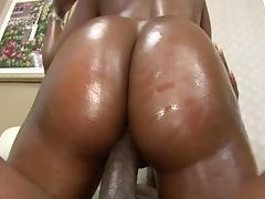 Crazy pornstar Angel Eyes in fabulous blowjob, black and ebony porn scene