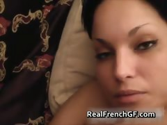French Amateur couple sweet assfucked