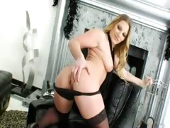 Shooting of incredible analhole babe