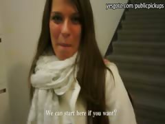 Big boobs amateur babe picked up and pounded by stranger