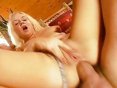 Anal with blonde Helen Birne