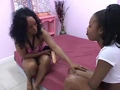 Hairy ebony lesbians