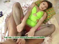 Saori chubby Chinese girl enjoys getting a cock