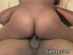 Big Titty Black Slut Riding