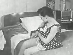 Vintage Porn 1950s Shaved Pussy Voyeur Fuck