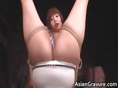 Cute asian babe in bondage sex gets part6