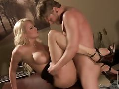 Hardcore Scene With The Gorgeous Blonde Stormy Daniels