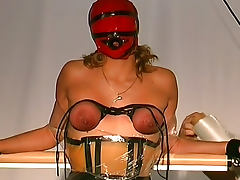 Sensory deprivation and pain for sub girl
