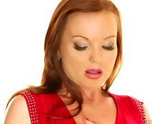Redhead Silvia Saint Masturbating