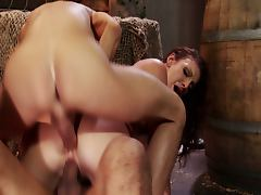 Brandi lyons' pirate double penetration