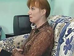 Kinky Mature Sluts Get Anal Fucked and Facialized in a Gangbang