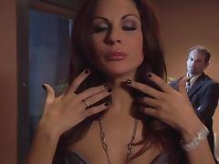 MILF Brunette Fucks Her Husband in a Steamy Clip