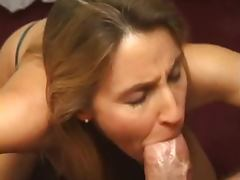 Milf Sucks Your Cock And Gets A Creamy Face