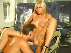 The hottest stewardess ever