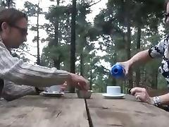 amateur preggo slut outdoor lactating