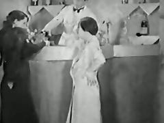 Authentic Vintage Porn 1930s FFM Threesome