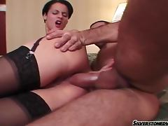 Leslie Taylor fucks cute Michelle Wild D in a hotel