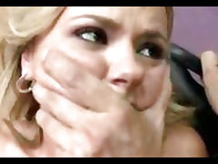Cum on Cute Bree Olson's Titties