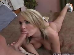 Hot Taylor Chanel is getting laid with Peter North