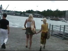 Two scandinavian babes fucked