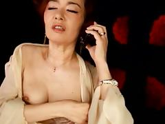 Mature Japanese Slut Kei Marimura Riding a Dick with Her Hairy Pussy