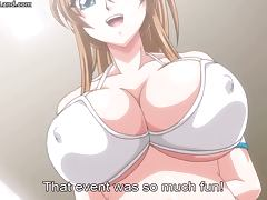 Hot big boobed horny nasty anime babes