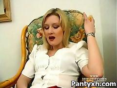 Horny Charming Kinky Pantyhose Porn