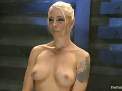 Wrapped and tied up Lorelei Lee gets ass fucked