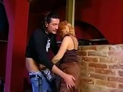 Kinky mature with blonde hair enjoys hardcore action