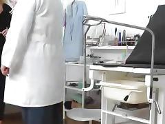 A hidden cam inside a gyno clinic