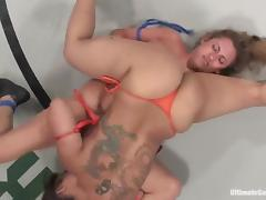 Twosome horny chicks have wild homo sex give a blast