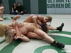 Three sassy chicks are going to rape each other hard