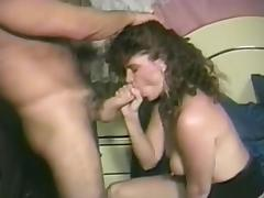 Amateur takes it in her wet pussy