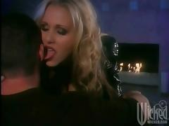 Gorgeous Blonde Julia Ann Gets Banged Hard And Swallow Sperm