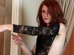 Elle Alexandra gives you a solo scene to jerk off to
