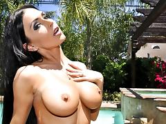 Jessica Jaymes Pierced Pussy!