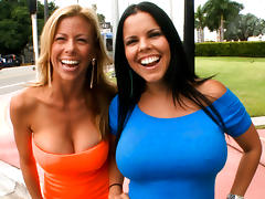 Porn-Stars Invade The Bangbus