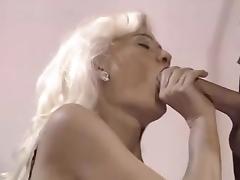 Raunchy Blonde Milf free video